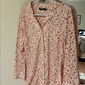 Floral night gown